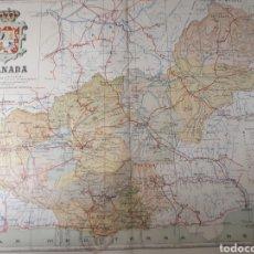 Mapas contemporáneos: MAPA DE GRANADA AÑO 1905 45X35 CMS. Lote 179022566