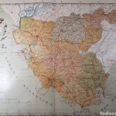 Mapas contemporáneos: MAPA DE CADIZ AÑO 1905 45X35 CMS.. Lote 179022646