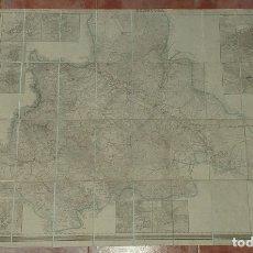 Mapas contemporáneos: DICCIONARIO GEOGRÁFICO - ESTASDÍSTICO HISTÓRICO - ZARAGOZA. Lote 180118533