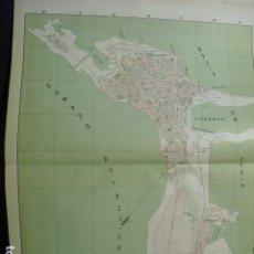 Mapas contemporáneos: 1900 PLANO DE CADIZ. Lote 181998923