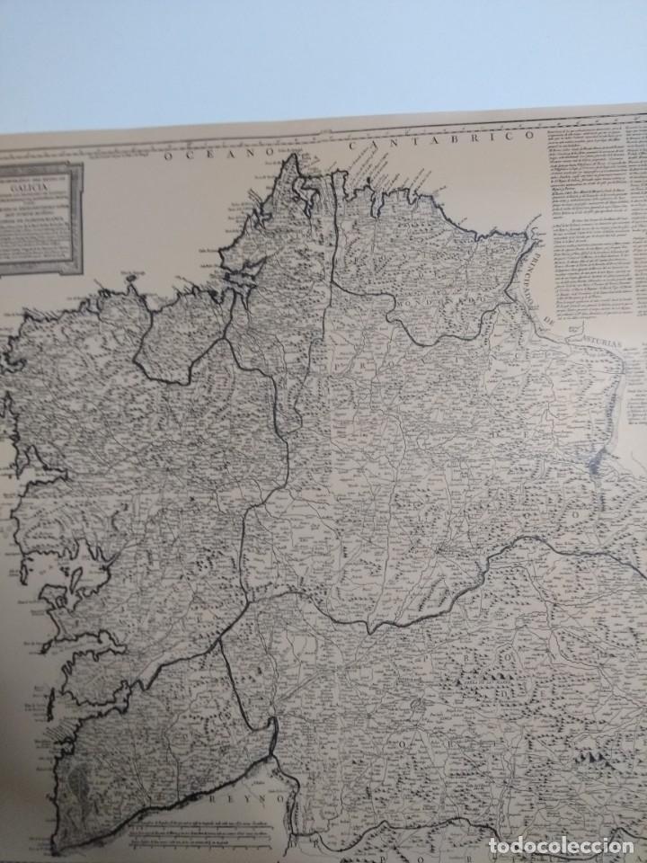 MAPA DE GALICIA DE 1784 (REPRODUCCIÓN) (Coleccionismo - Mapas - Mapas actuales (desde siglo XIX))
