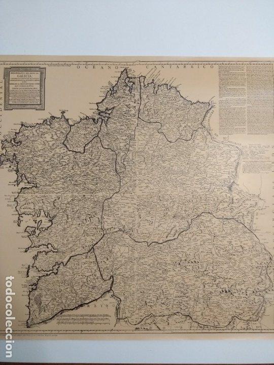 Mapas contemporáneos: Mapa de galicia de 1784 (Reproducción) - Foto 2 - 182241547