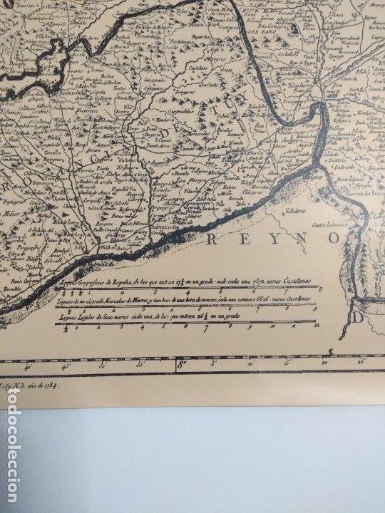 Mapas contemporáneos: Mapa de galicia de 1784 (Reproducción) - Foto 3 - 182241547