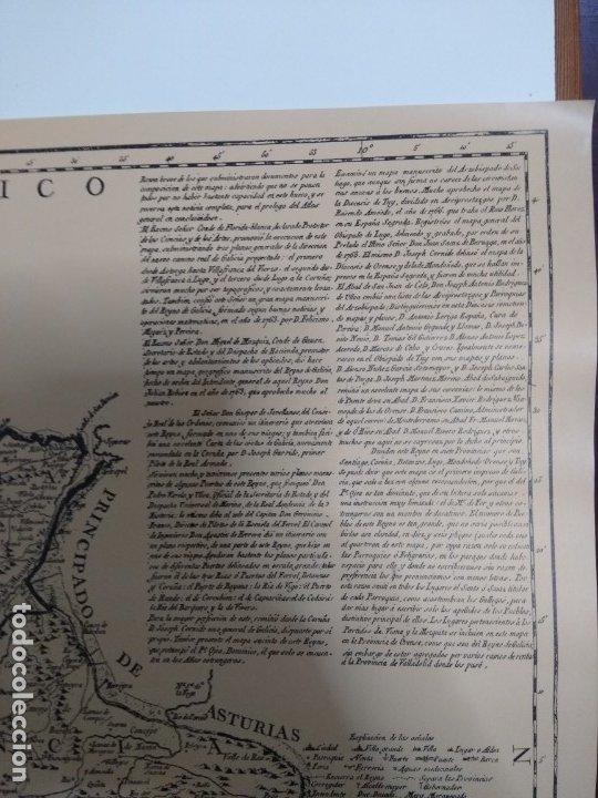 Mapas contemporáneos: Mapa de galicia de 1784 (Reproducción) - Foto 5 - 182241547
