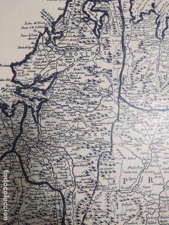 Mapas contemporáneos: Mapa de galicia de 1784 (Reproducción) - Foto 8 - 182241547