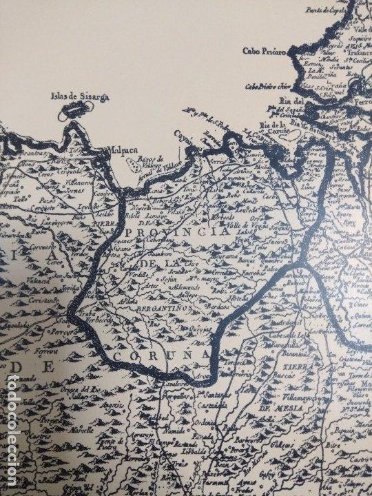 Mapas contemporáneos: Mapa de galicia de 1784 (Reproducción) - Foto 9 - 182241547