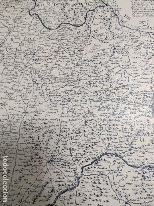 Mapas contemporáneos: Mapa de galicia de 1784 (Reproducción) - Foto 13 - 182241547