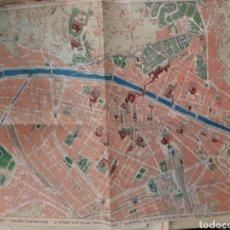 Mapas contemporáneos: PLANO ROMA ITALIA. Lote 182519676