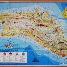 Mapas contemporáneos: MAPA DE MENORCA - ZERCOWITZ - 1976 - PLANOS URBANOS DE MAÓ, CIUTADELLA I ALAIOR . Lote 186269752