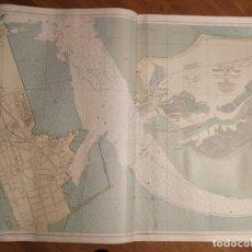 Mapas contemporáneos: CARTA NÁUTICA PUERTO DE CÁDIZ HOJA II. Lote 186350877