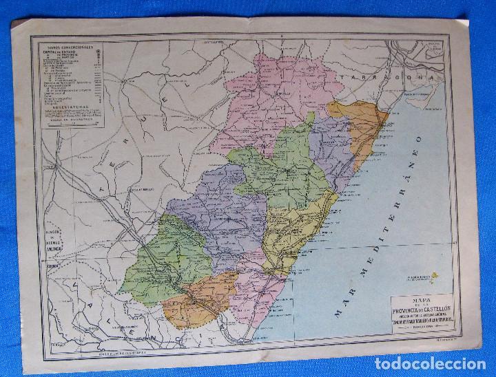 Mapa De La Provincia De Castellon Publicado Po Buy Contemporary
