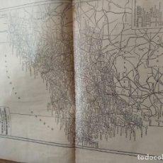 Mapas contemporáneos: LA CORUÑA – MAPA-PUBLICIDAD Y CARACTERISTICAS - ANUARIO GENERAL DE ESPAÑA AÑO 1958 - BAILLY BAILLIE. Lote 189399762
