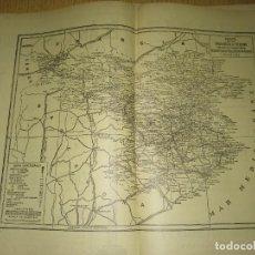 Mapas contemporáneos: GIRONA – MAPA-PUBLICIDAD Y CARACTERISTICAS - ANUARIO GENERAL DE ESPAÑA AÑO 1958 - BAILLY BAILLIE. Lote 189399936