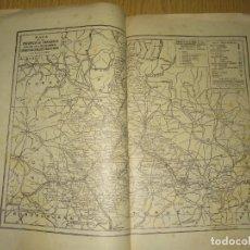Mapas contemporáneos: ZARAGOZA – MAPA-PUBLICIDAD Y CARACTERISTICAS - ANUARIO GENERAL DE ESPAÑA AÑO 1958 - BAILLY BAILLIE. Lote 189400286