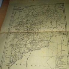Mapas contemporáneos: PONTEVEDRA – MAPA Y PUBLICIDAD - HOJAS ANUARIO GENERAL DE ESPAÑA AÑO 1958 - BAILLY BAILLIE. Lote 189403333