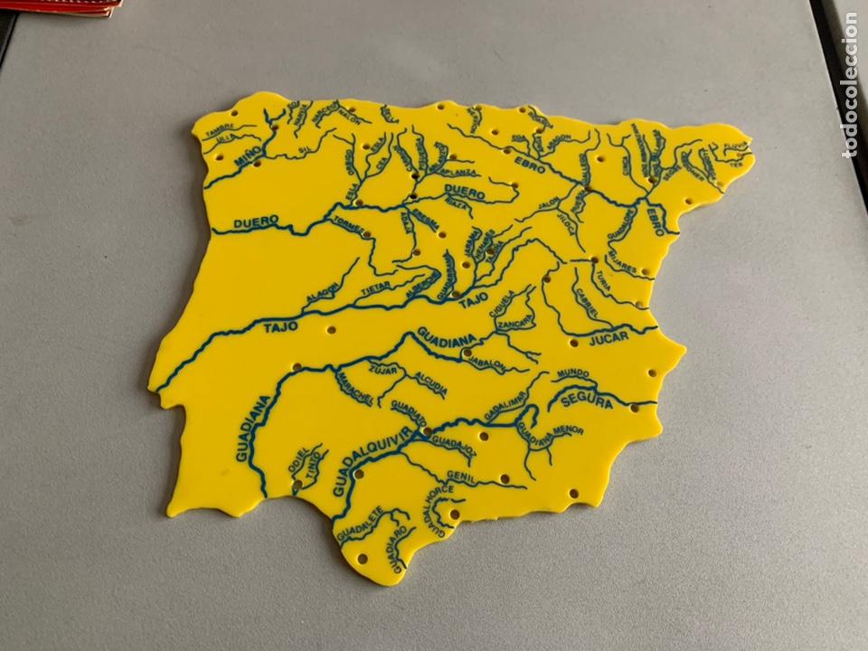 Mapa Plastico Espana Rios Buy Contemporary Maps At