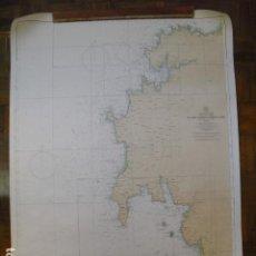 Mapas contemporáneos: 1970 CARTA NAUTICA DE CABO VILLANO A MONTE LOURO. Lote 189921528