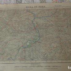 Mapas contemporáneos: ANTIGUO MAPA EDICION MILITAR MORA DE EBRO TARRAGONA 1952. Lote 190107961