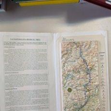 Mapas contemporáneos: 1997 RENFE FERROCARRILES MAPA PLASTICO EN RELIEVE LINEA ALTA VELOCIDAD MADRID SEVILLA. Lote 190338395