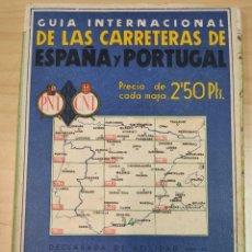 Mapas contemporáneos: GUIA INTERNACIONAL DE LAS CARRETERAS DE ESPAÑA Y PORTUGAL Nº 14. Lote 191097192