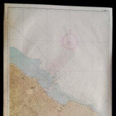 Mapas contemporáneos: PUERTO DE DENIA, MAPA CARTA NÁUTICA / NAVAL, MAR MEDITERRÁNEO, 67 X 99 CM (Nº 293A). Lote 191194892