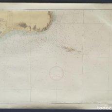 Mapas contemporáneos: BAHIA DE SANTA POLA E ISLA DE TABARCA, MAPA CARTA NÁUTICA / NAVAL, 107 X 72 CM (Nº 285A). Lote 191196881