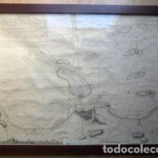 Mapas contemporáneos: (JXP-200100)AÑO1798. PLANO COLONIAL DEL PUERTO DE VERACRUZ, MEXICO.. Lote 191503058