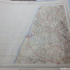 Mapas contemporáneos: MAPA DEL NORTE DE MARRUECOS. HOJA 3 LARACHE. Lote 192140296