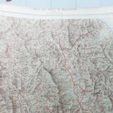 Mapas contemporáneos: MAPA DEL NORTE DE MARRUECOS. HOJA 4 CHAUEN. Lote 192696323