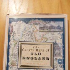 Mapas contemporáneos: MAPA CONDADO VIEJA INGLATERRA THOMAS MOULE. Lote 193271053