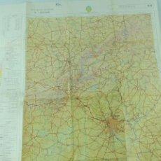 Mapas contemporáneos: MAPA VINTAGE MILITAR DE ESPAÑA (1952), SEGOVIA, 94X77 CM.. Lote 193938982