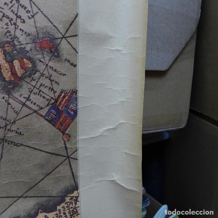 Mapas contemporáneos: FRAGMENTO DE UN MAPA DE LA EUROPA OCCIDENTAL ATRIBUIDO A ABRAHAM CRESQUES EN 1375 EDITADO POR SALVAT - Foto 7 - 194157143