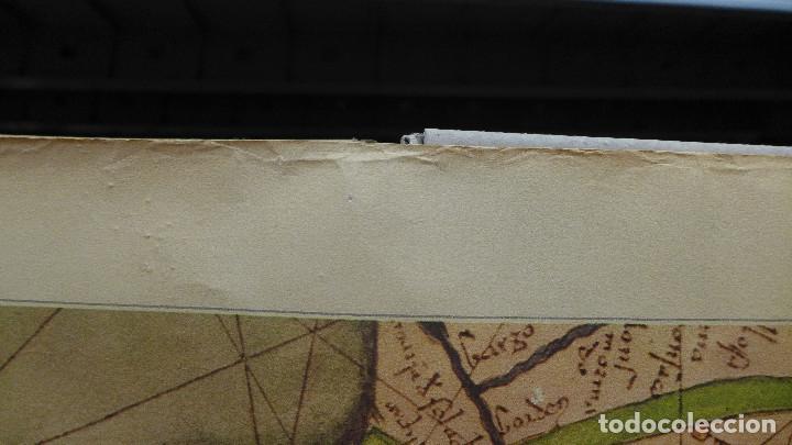Mapas contemporáneos: FRAGMENTO DE UN MAPA DE LA EUROPA OCCIDENTAL ATRIBUIDO A ABRAHAM CRESQUES EN 1375 EDITADO POR SALVAT - Foto 11 - 194157143