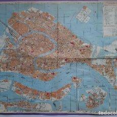 Mapas contemporáneos: ANTIGUO MAPA DE LA CIUDAD DE VENECIA GRANDE. Lote 194187477