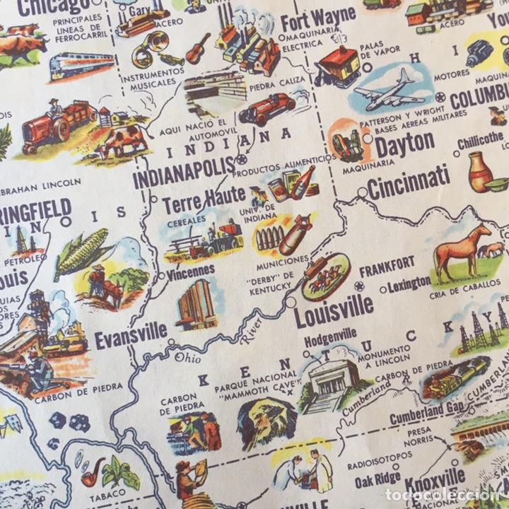 Mapas contemporáneos: Mapa Estados Unidos USA - Foto 3 - 194198205