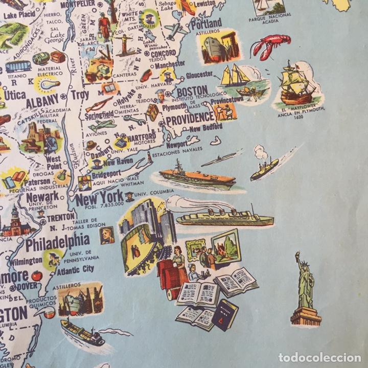Mapas contemporáneos: Mapa Estados Unidos USA - Foto 4 - 194198205