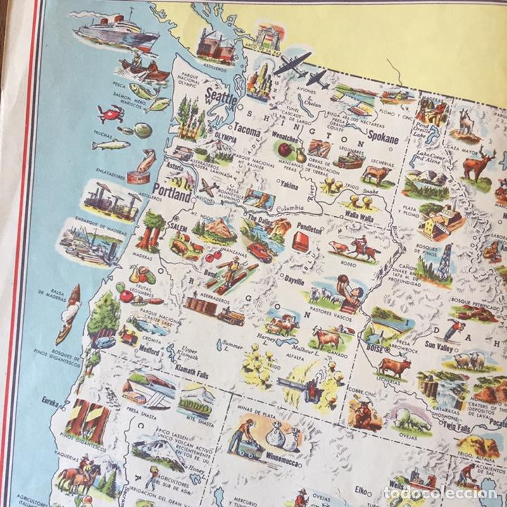 Mapas contemporáneos: Mapa Estados Unidos USA - Foto 5 - 194198205