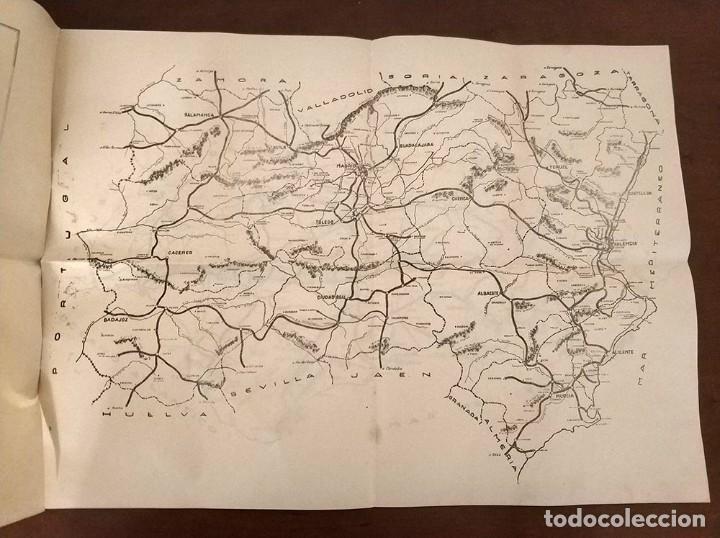 Mapas contemporáneos: 6 Antiguos mapas mudo de lineas RENFE preparaciones ferroviarias academia Atocha - tren - Foto 6 - 194210463
