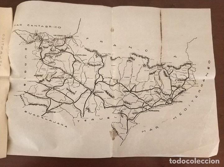 Mapas contemporáneos: 6 Antiguos mapas mudo de lineas RENFE preparaciones ferroviarias academia Atocha - tren - Foto 9 - 194210463