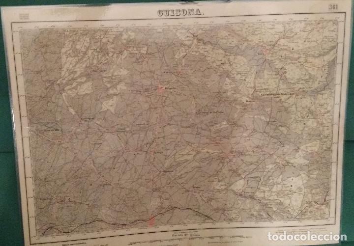 GUISONA Nº 361 (Coleccionismo - Mapas - Mapas actuales (desde siglo XIX))
