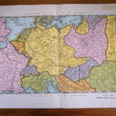 Mapas contemporáneos: ANTIGUO MAPA DE EUROPA, EDITORIAL FARO, 64X44CM. Lote 194387303