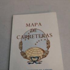 Mapas contemporáneos: SERVICIO GEOGRÁFICO DEL EJÉRCITO MAPA CARRETERAS ESPAÑA. Lote 194553855