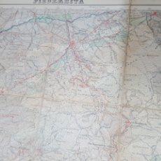 Mapas contemporáneos: MAPA TOPOGRAFICO PIEDRAHITA AVILA 554. 1951, 1ª EDICIÓN. ENTELADO, INSTITUTO GEOGRÁFICO Y CATASTRAL.. Lote 194558751