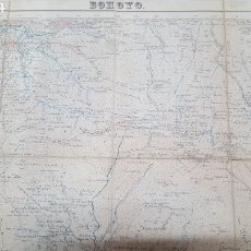 Mapas contemporáneos: MAPA TOPOGRAFICO BOHOYO AVILA 577. 1950 1ª EDICIÓN,. ENTELADO, INSTITUTO GEOGRÁFICO Y CATASTRAL.. Lote 194564632