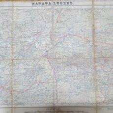 Mapas contemporáneos: MAPA TOPOGRAFICO NAVATALGORDO AVILA 555 1952, 1ª EDICIÓN. ENTELADO, INSTITUTO GEOGRÁFICO Y CATASTRAL. Lote 194565892