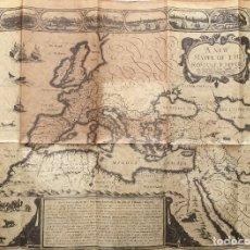 Mapas contemporáneos: MAPA DEL IMPERIO ROMANO RÉPLICA. Lote 194599292