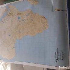Mapas contemporáneos: MAPA AFRICA FISICA/POLÍTICA.. Lote 194608273