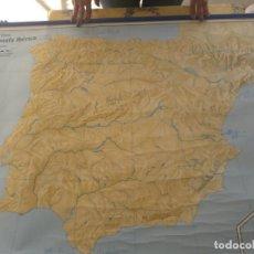 Mapas contemporáneos: MAPA ESPAÑA Y PENÍNSULA IBERICA FISICA/POLÍTICA.. Lote 194609075