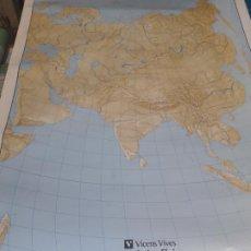 Mapas contemporáneos: MAPA ASIA FISICA/POLÍTICA.. Lote 194609778