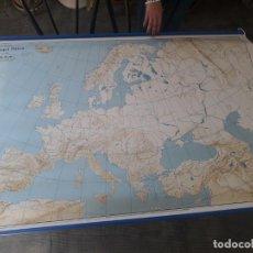 Mapas contemporáneos: MAPA EUROPA FISICA/POLÍTICA.. Lote 194610877